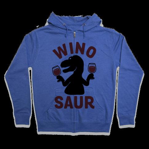 Winosaur Zip Hoodie