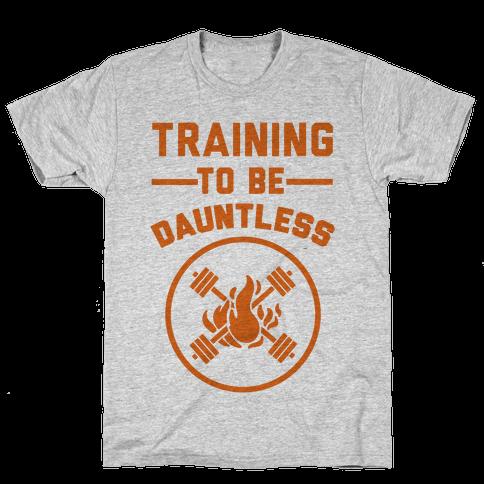 Training To Be Dauntless Mens T-Shirt