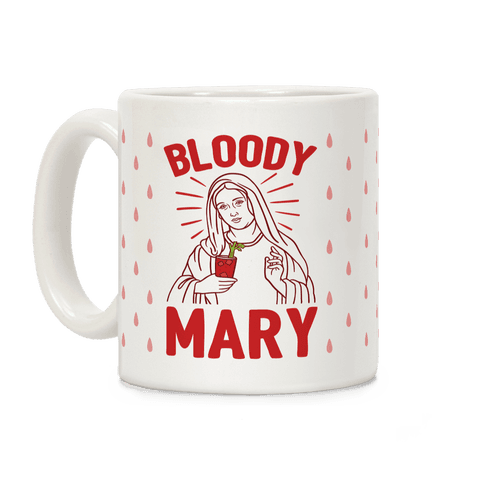Bloody Virgin Mary Coffee Mug