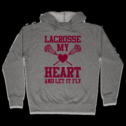 Lacrosse My Heart Hooded Sweatshirt