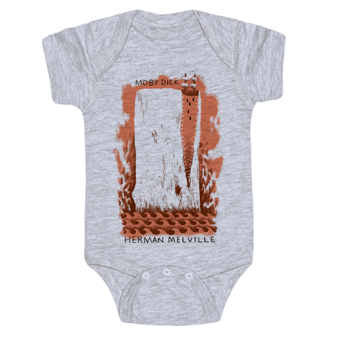 Moby Dick Baby Onesy
