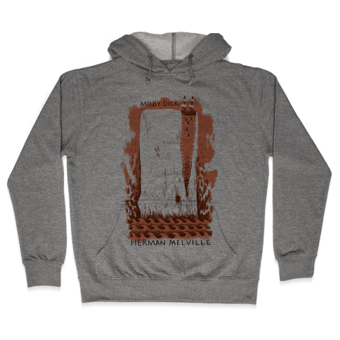 Moby Dick Hooded Sweatshirt