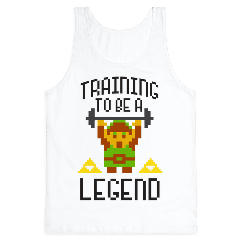 Training To Be A Legend Tank Top