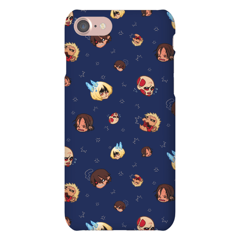 Attack on Titan Heads Phone Case