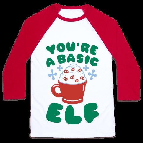 Basic Elf Baseball Tee