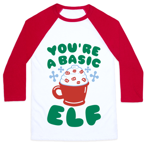 Basic Elf Baseball Tee