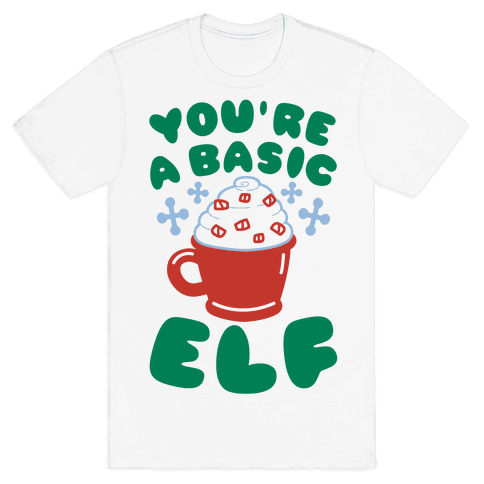 Basic Elf Mens T-Shirt