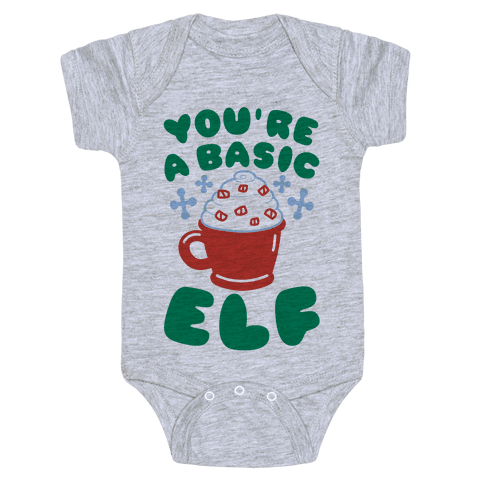 Basic Elf Baby Onesy