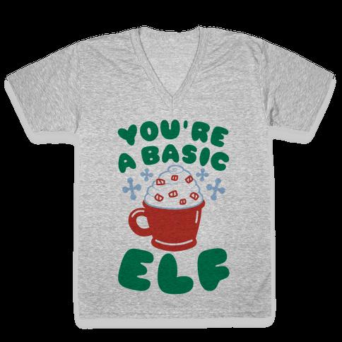 Basic Elf V-Neck Tee Shirt