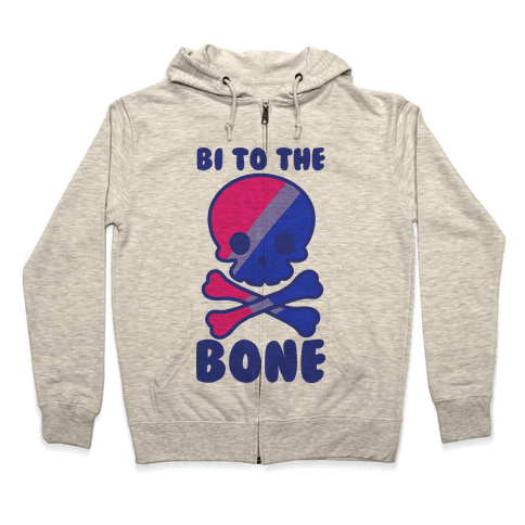 Bi to the Bone Zip Hoodie