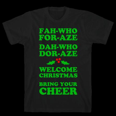 Fah-Who For-Aze Mens T-Shirt