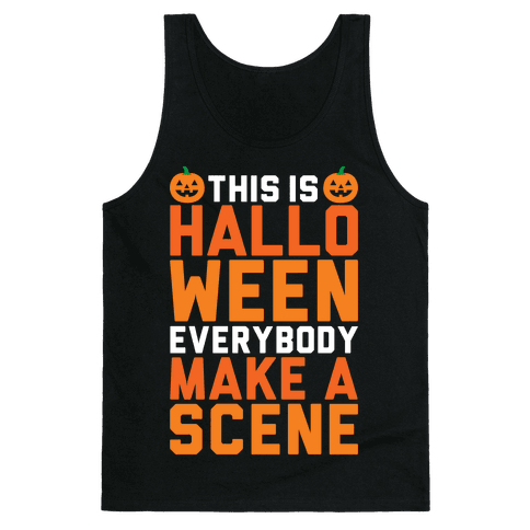 This Is Halloween Tank Top