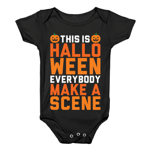 This Is Halloween Baby Onesy