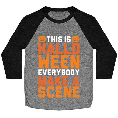 This Is Halloween Baseball Tee