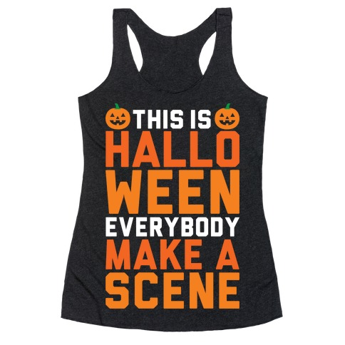 This Is Halloween Racerback Tank Top