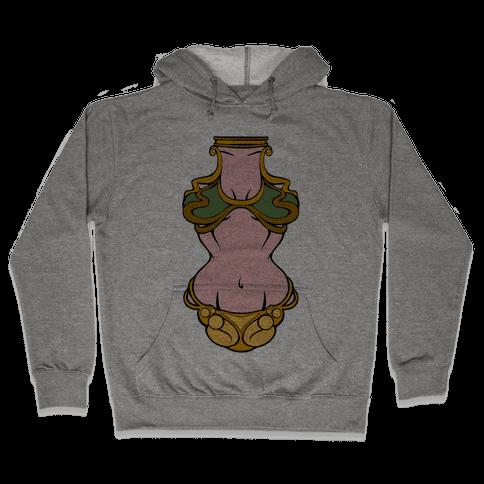 Princess Leia Bikini Hooded Sweatshirt