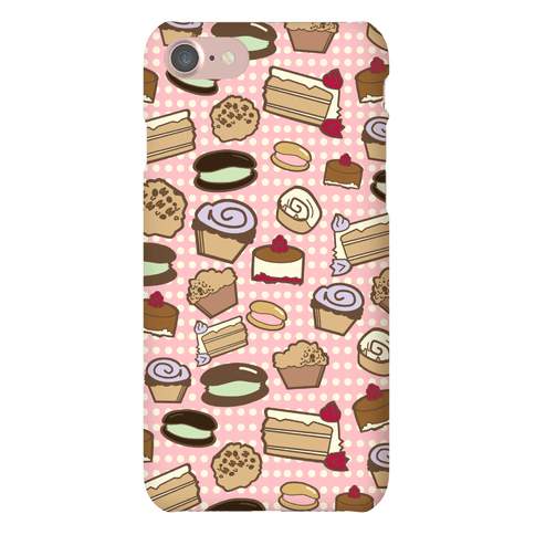 Bakery Pattern Phone Case