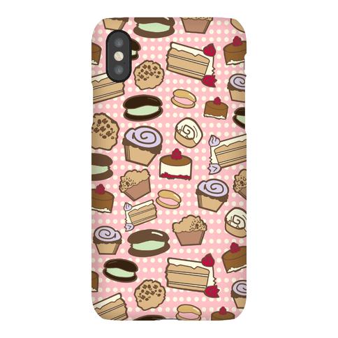 Bakery Pattern Phone Case