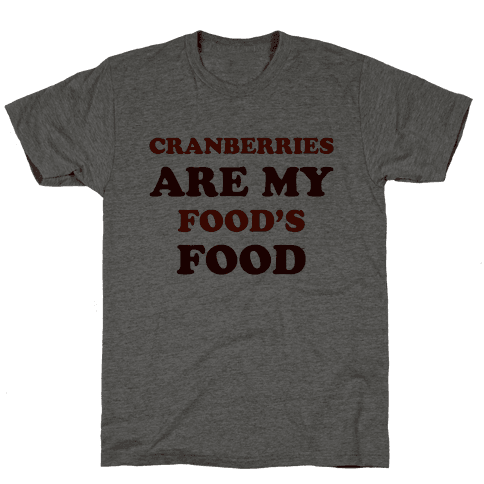 Cranberries Are My Food's Food