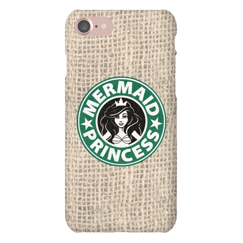 Mermaid Princess Coffee Phone Case