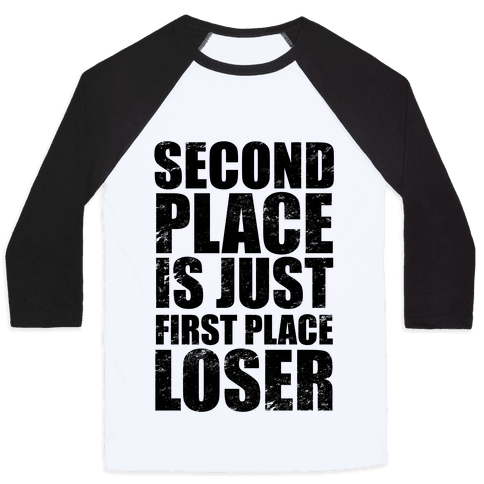 Second Place Baseball Tee