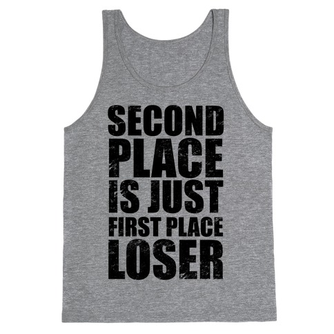 Second Place Tank Top