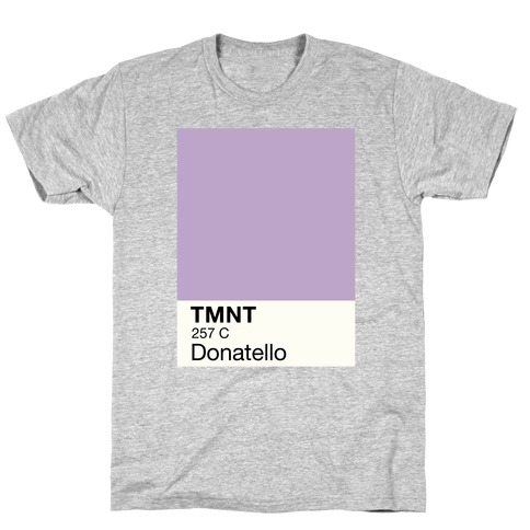 Donatello Color Swatch Parody T-Shirt
