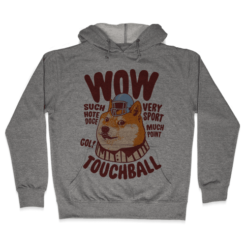 Sports Doge Hooded Sweatshirt