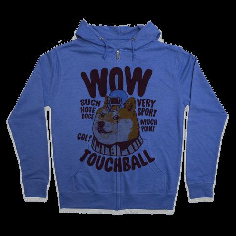 Sports Doge Zip Hoodie