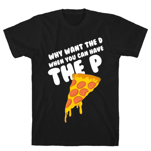 Why Want the D Mens T-Shirt