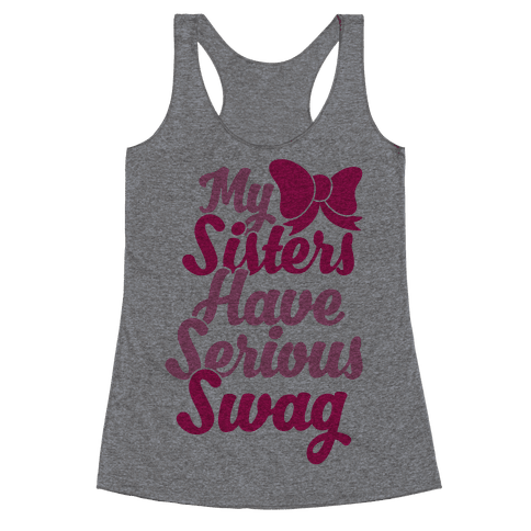 Sorority Swag Racerback Tank Top