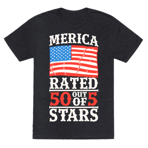 Merica: Rated 50 Out of 5 Stars
