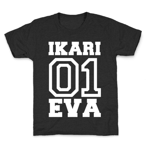 Ikari: Unit 01 Eva Kids T-Shirt