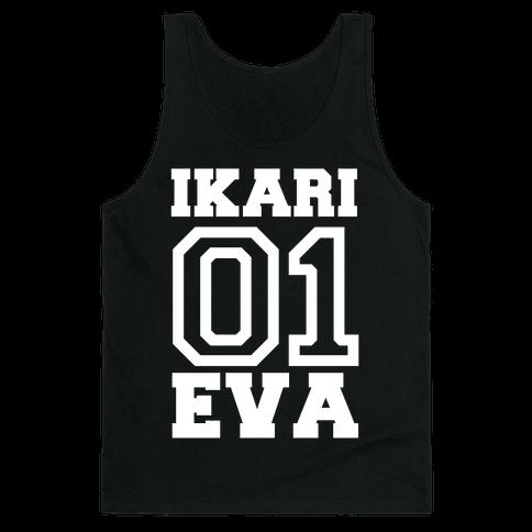 Ikari: Unit 01 Eva Tank Top