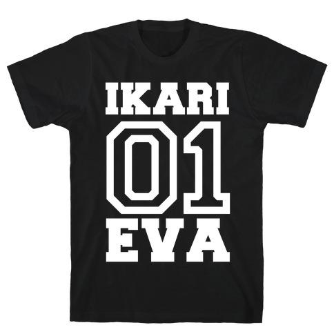 Ikari: Unit 01 Eva T-Shirt
