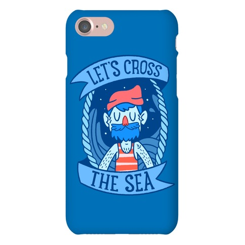 Let's Cross The Sea Phone Case