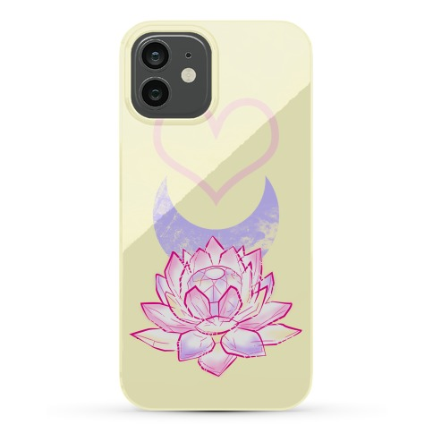 Silver Imperium Crystal Phone Case