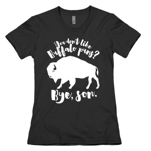 Buffalo Puns Womens T-Shirt