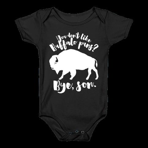 Buffalo Puns Baby Onesy
