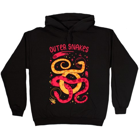 Outer Snakes Hooded Sweatshirt