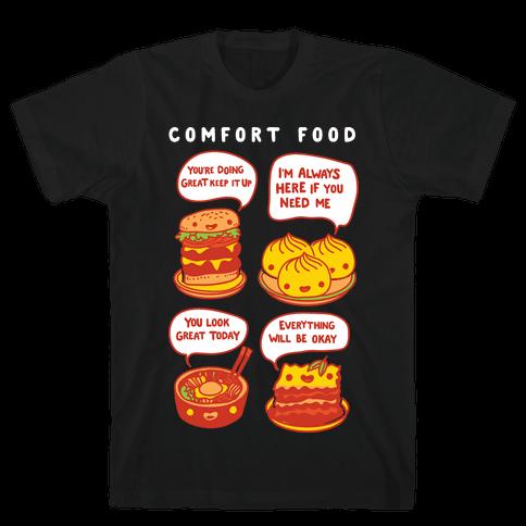 Comfort Food Mens T-Shirt