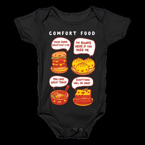 Comfort Food Baby Onesy