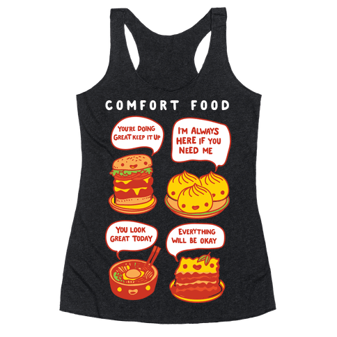 Comfort Food Racerback Tank Top