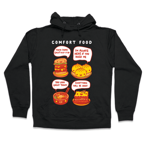 Comfort Food Hooded Sweatshirt