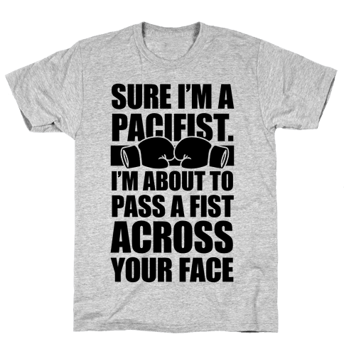 Pacifist Mens T-Shirt
