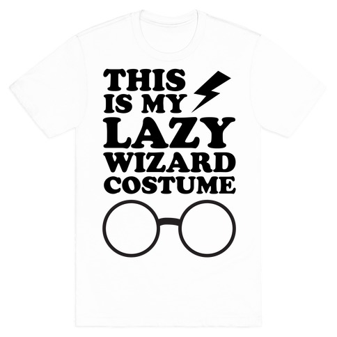 This is My Lazy Wizard Costume Mens T-Shirt