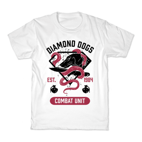 Diamond Dogs Combat Unit Kids T-Shirt