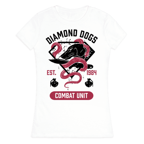Diamond Dogs Combat Unit Womens T-Shirt
