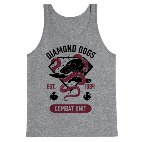 Diamond Dogs Combat Unit Tank Top