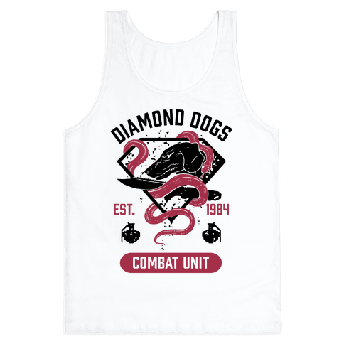 Diamond Dogs Combat Unit Tank Top